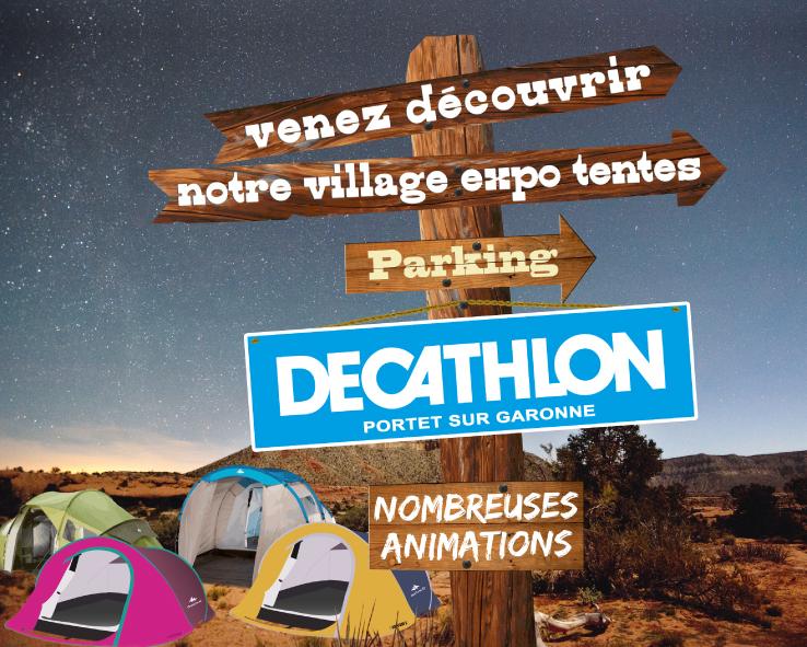 Affiche Dcathlon Portet